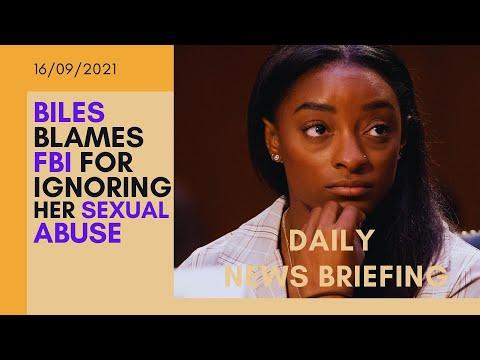 Simone Biles excoriate FBI for ignoring Larry Nassar sex abuse  - UK NEWS BRIEFING