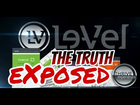 My Le-Vel Thrive Experience EXPOSED and REVIEW