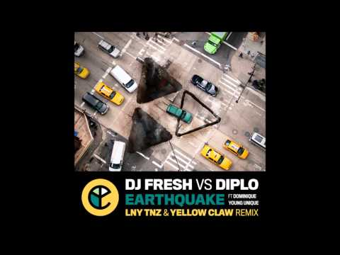DJ Fresh vs Diplo - Earthquake (LNY TNZ & Yellow Claw Remix) [Hardstyle / Trap]