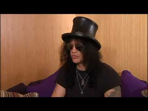 Slash interview with Maurice Jay on UTV Live, Belfast 2010