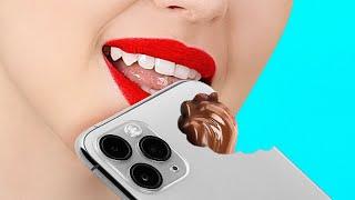 DICAS PARA UMA VIDA MAIS DOCE! || Truques e problemas engraçados com comidas por 123 GO! GOLD
