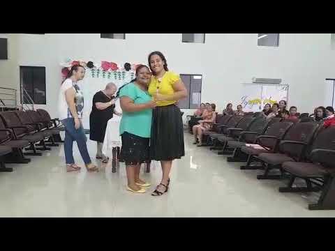 Confraternização  das irmãs  na AD Cacoal(2)
