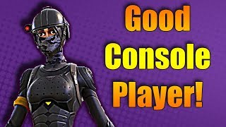 🔴NEW FORTNITE SKIN WHITOUT? GOOD CONSOLE PLAYER | TRYING TO GET MY FIRST WIN | FAST BUILDER