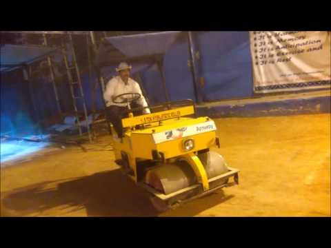 Tiger brand, ha-ko cricket Pitch rollers at sports coaching foundation, hyderabad