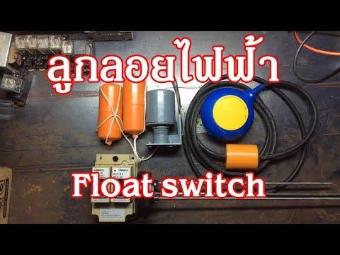 ลูกลอยไฟฟ้า Float switch
