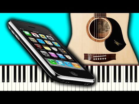 Vintage iPhone Rock 'n' Roll - Piano Tutorial