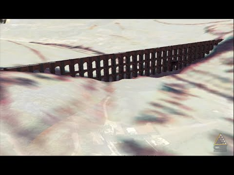 L'acquedotto Carolino come non l'avete mai visto - in 3D