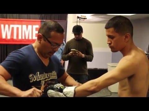 Adam Lopez Camp Life, Fight Week: San Antonio Texas to Showtime Main Event