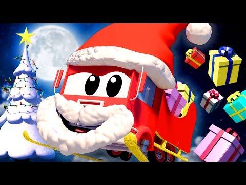 Video de Navidad para niños CARICATURAS DE CAMIONES Y AUTOS  Compilación Navideña de Auto City