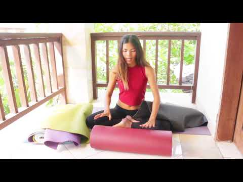 Untuk Pemula Yoga. Ciri -ciri Matras Yoga yang Bagus || Review Yoga Mat
