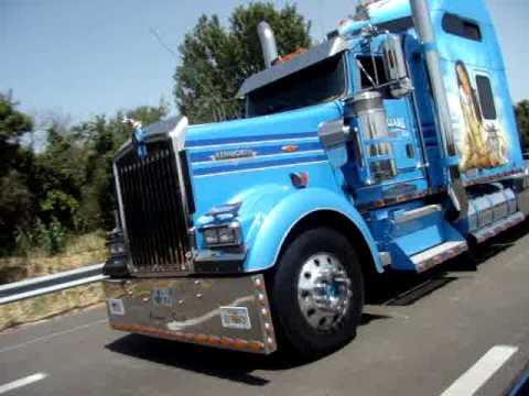Camion am ricain d cor youtube - Dessin de camion americain ...