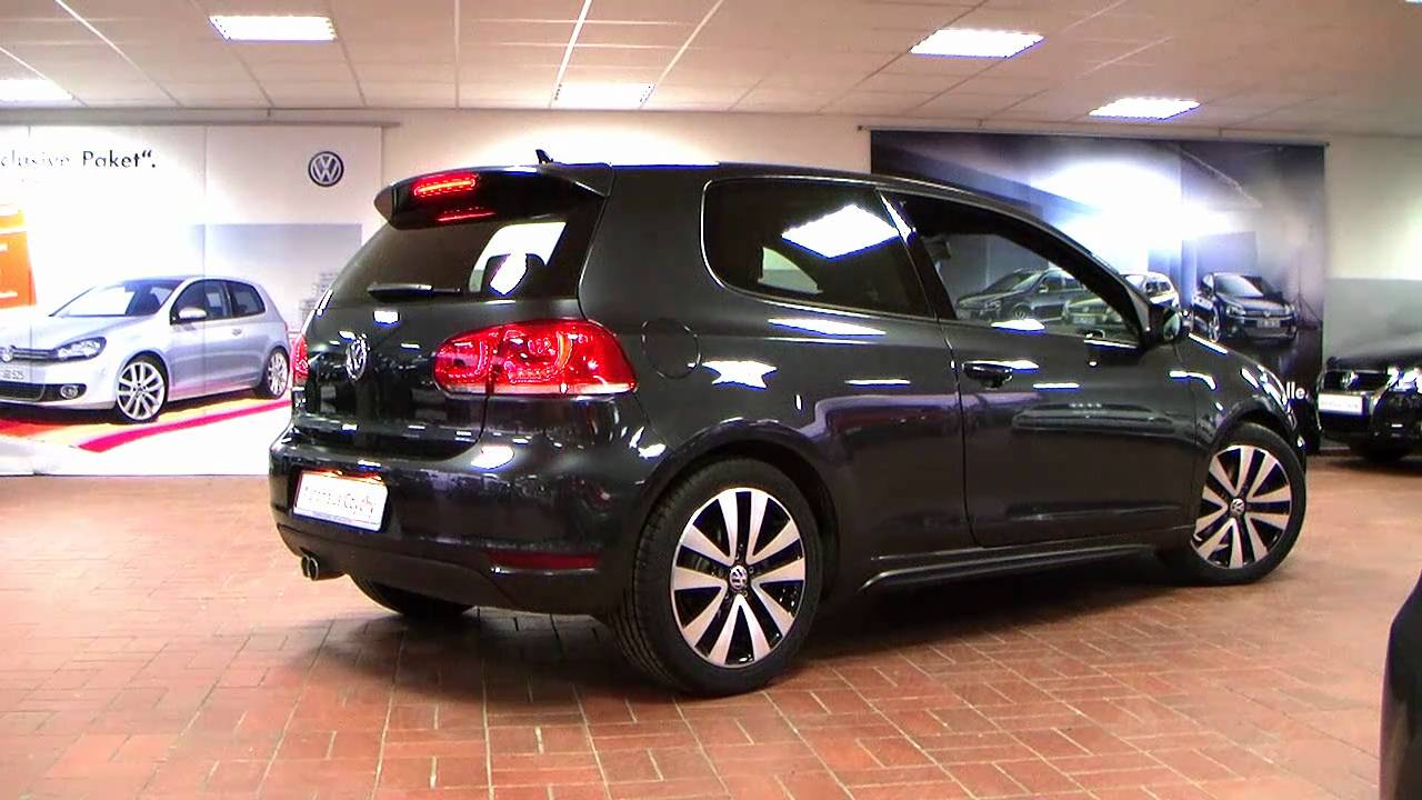 volkswagen golf vi gtd  tdi dpf  carbon steel grey aw wwwautohausbizczychy youtube