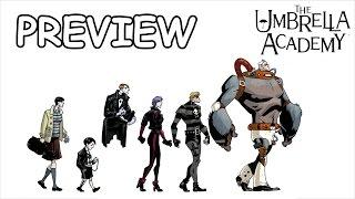 Комикс-обзор на The Umbrella Academy [Preview]