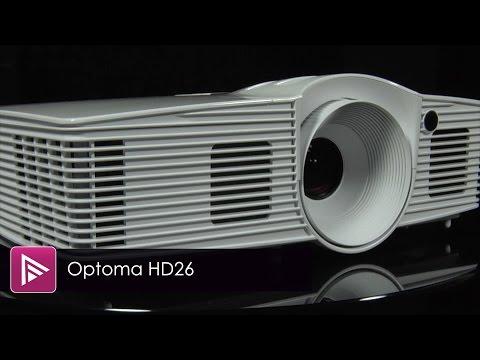 סקירה למקרן Full HD דגם Optoma HD26