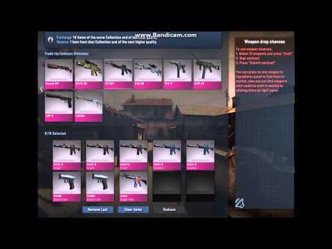 Cs:Go Trade up Simulator