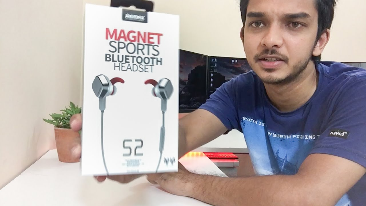 Remax Rb S2 Bluetooth Headset Unboxing I Bought It From Daraz Com Bd Youtube