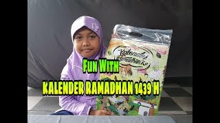 Mainan Mendidik Ramadhan - Kalender Ramadhan 2018