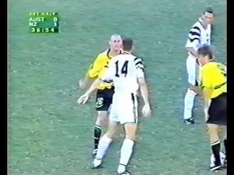 All Whites v Australia - ONC - 4 October 1998
