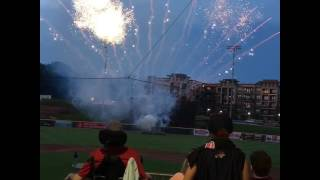 Gambar cover Fireworks at Coolray Field