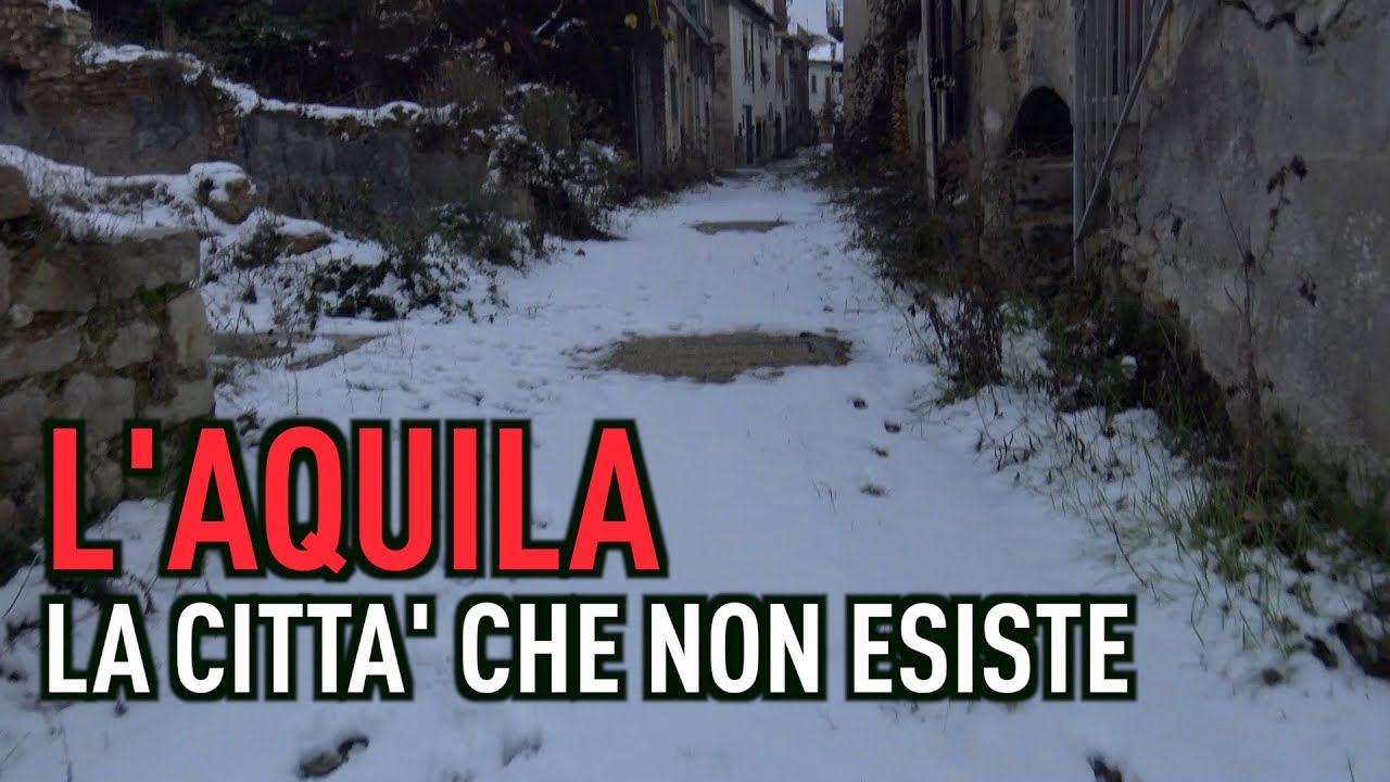 [PTV Speciale] L' Aquila, la città che non esiste.