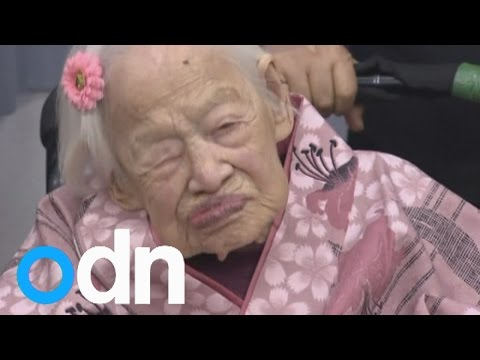 World's oldest person Misao Ohkawa celebrates 117th birthday in Japan