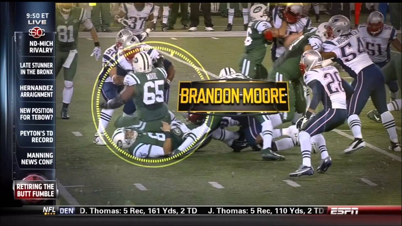 ESPN Sports Science Butt Fumble