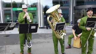 Horst, die Blaskapelle - Live @ Luzern-Marathon: Watermelon Man