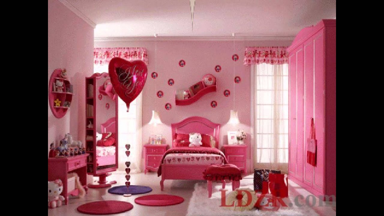 Top 25 Beautiful Girls Bedrooms With Hello Kitty