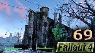 Fallout 4 PS4 Прохождение 69 Музей ведьм Салема и Роковые яйца