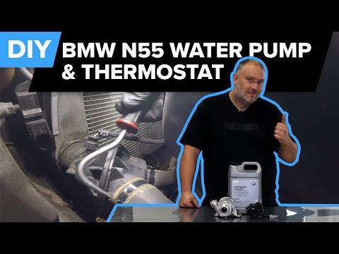 BMW F15 X5 Water Pump & Thermostat Replacement DIY (2012-2019 BMW X5, X6, 335i, M235i)