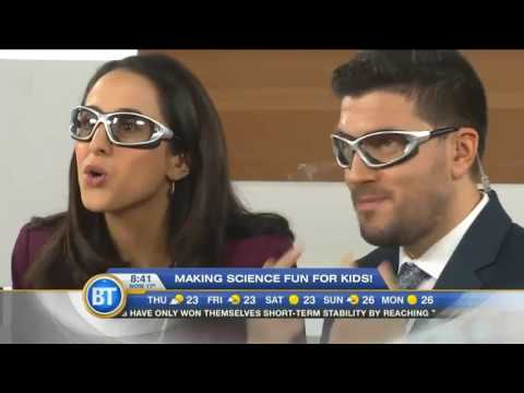 Making science fun for kids with Pueblo Science on Breakfast Television Montreal