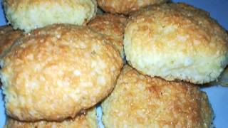 Воздушное кокосовое печенье вкусный и простой рецепт