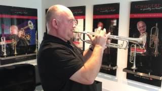 SCHAGERL - James Morrison Testing your James Morrison Bb Trumpet Silver Plated / Serial Number: 4618
