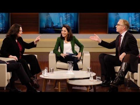 TV-Streit: Andrea Nahles (SPD) bekommt bei Anne Will die Leviten gelesen: Renten-Sauerei 11/2016