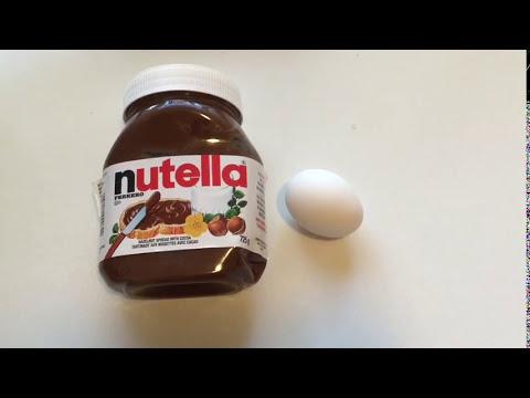 2 Ingredient Nutella Lava Cake