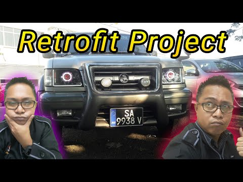Isuzu Trooper Bighorn   l   Projector Project Retrofit