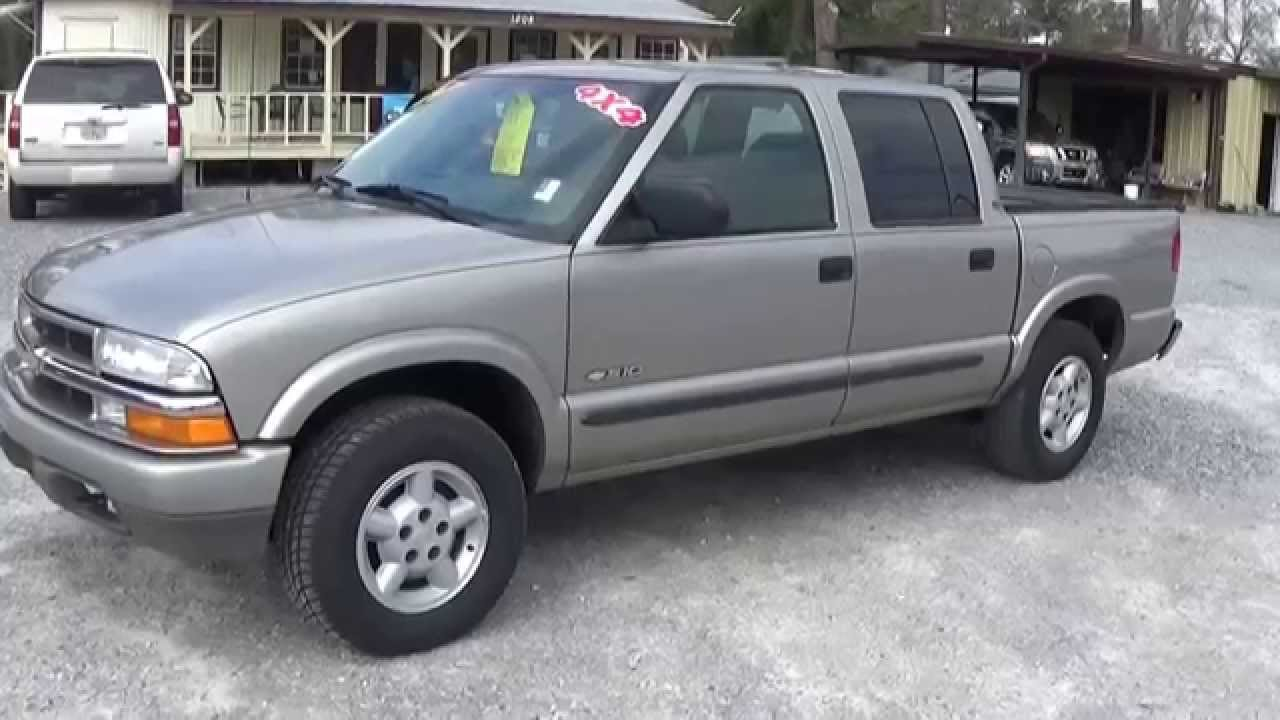 2004 chevrolet s 10 crew cab 4x4 for sale leisure used cars 850 265 9178 youtube. Black Bedroom Furniture Sets. Home Design Ideas