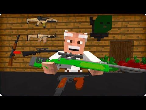 Дед Тимофей! [ЧАСТЬ 24] Зомби апокалипсис в майнкрафт! - (Minecraft - Сериал)