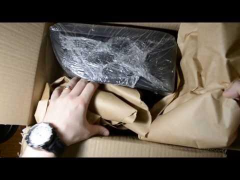 распаковка и установка подлокотника на Шеви Ланос