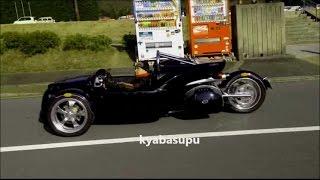 カンパーニャT-REX V13R スリーホイラー ハーレーダッビッドソン製V6エンジン搭載