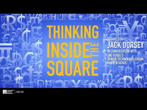 CHM Live │Thinking Inside the Square: A conversation with Square CEO Jack Dorsey