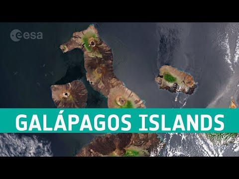 Earth from Space: Galápagos Islands, Ecuador
