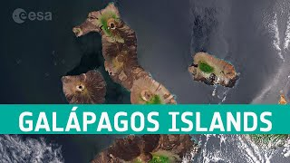 Earth from Space: Galápagos Islands, Ecuador
