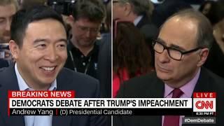 Andrew's Full Post-Debate CNN Interview - December Debate