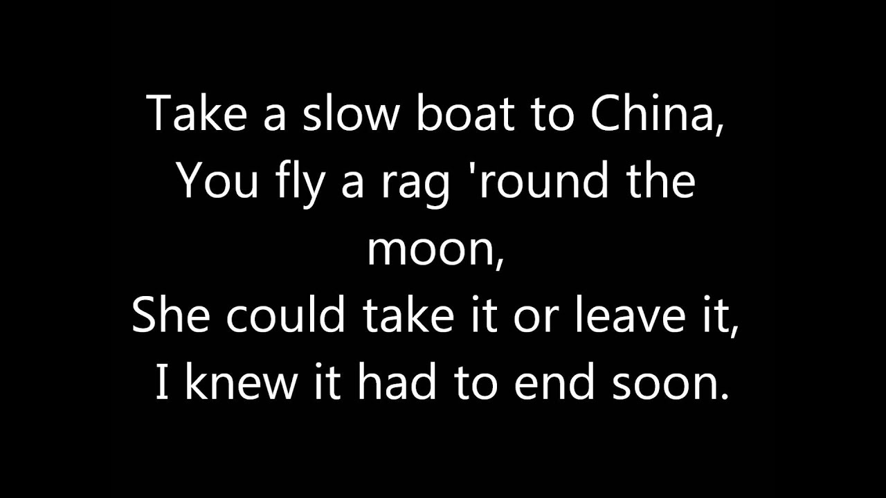 Stereophonics Indian Summer Lyric