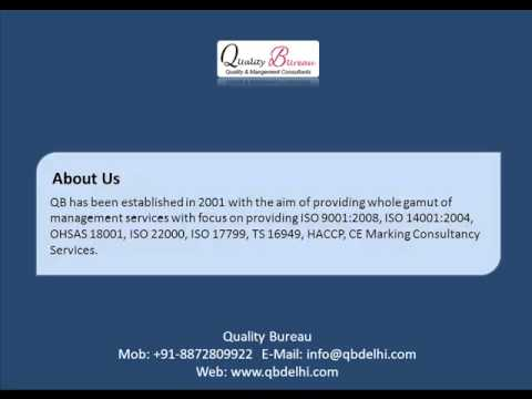 Quality Bureau - ISO Certification Consulting Body Pune