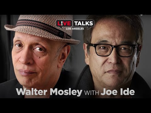 Walter Mosley in conversation with Joe Ide at Live Talks Los Angeles