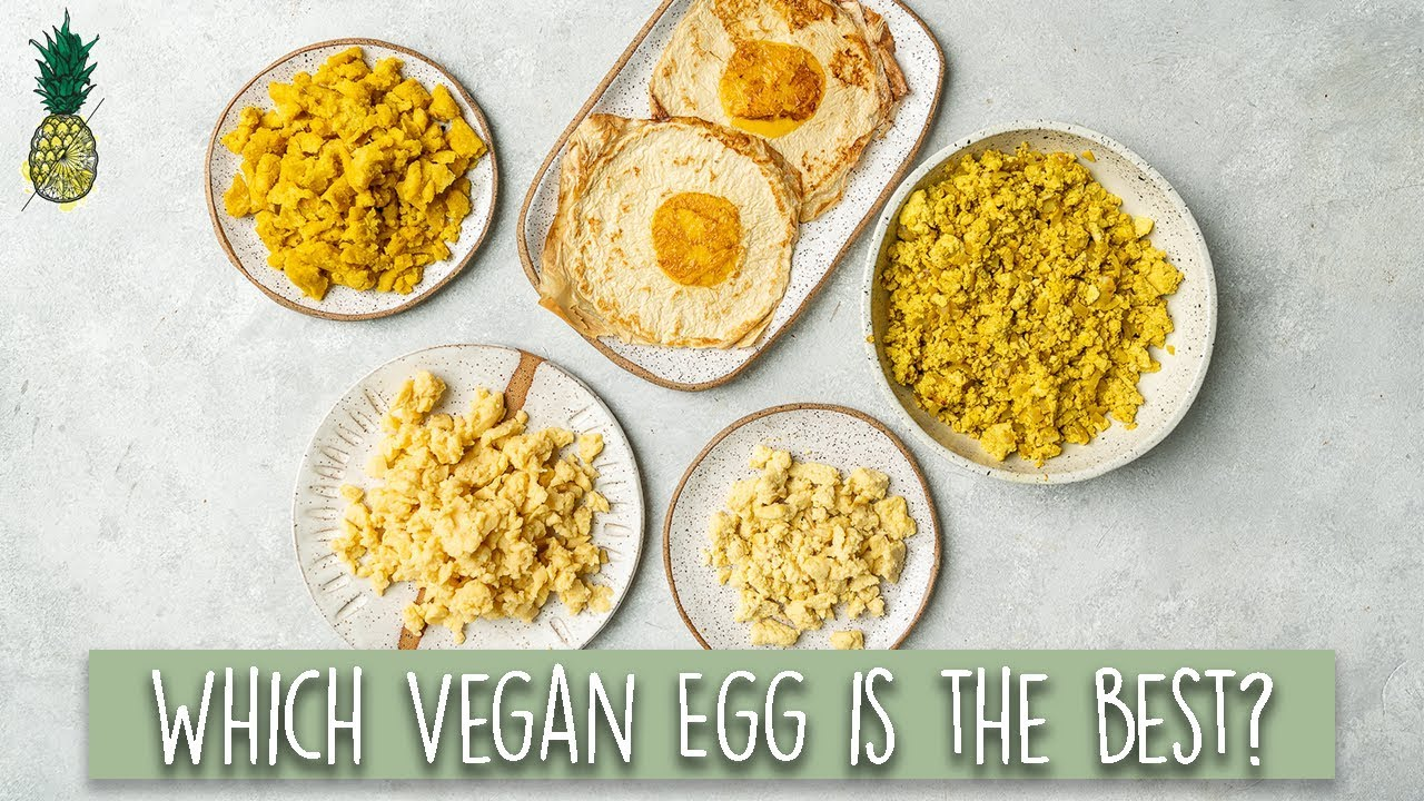 Ultimate Vegan Egg Taste Test! Are They Worth It?