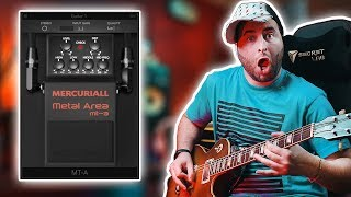 FREE Mercuriall Metal Area MT-A Plugin from BOSS METAL ZONE Pedal