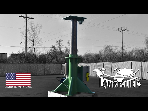 In-Ground Lift Table | 4,500 Pound Capacity